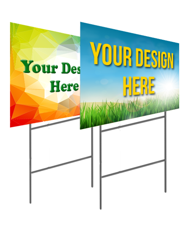 2 Sided Yard Signs Printing Signs Amp More